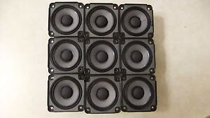 9 X Bose Drivers Loud Speakers Full Range 2.55 inch 4.6 Ohm, 30 Watts RMS