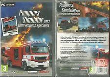 JEU PC - POMPIERS SIMULATOR ( NEUF EMBALLE ) / EN FRANCAIS