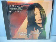 Mozart CONCERTOS Nos 10 & 24 arr. by Hummel, Fumiko Shiraga, Piano, BIS, NEW