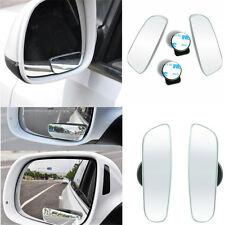 360° Wide Angle Convex Rear Side 2Pcs View Blind Spot Mirror FOR Universal Car