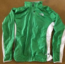 NORTH FACE WOMEN'S Chill Shield Lightweight Windbreaker Jacket~Size L~GREEN/WHT