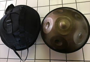 """18"""" Steel Tongue Drum Handpan Hand Pan Drums 6 Notes Percussion w/bag"""