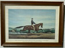 """THE CELEBRATED HORSE Trotter """"DEXTER"""" CUP """"THE KING OF THE TURF"""" REPRINT"""