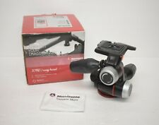 Manfrotto MHXPRO3W X-PRO 3-Way Tripod Head with Retractable Levers EXC Condition
