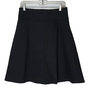 Betabrand Women's Black Work It Skort Skirt Sz Medium Athletic Workwear A-Line