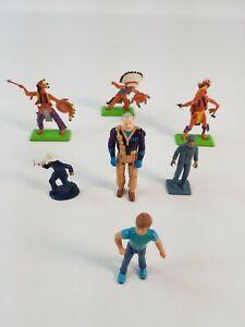 Britains Deetail Apache Indians Figurines Figures Vintage Toys Bundle