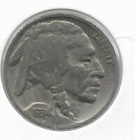 Rare Old Antique 1934 US Buffalo Indian Nickel Collection Great USA Coin LOT:V77