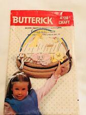 Butterick Craft Pattern 4728 Animal Wall Hanging