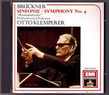 Otto KLEMPERER: BRUCKNER Symphony No.4 Romantic EMI CD Romantische Sinfonie 1963