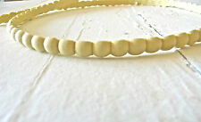 MOULDING SMALL BEADING * WOOD & RESIN * 8 FEET * FLEXIBLE * STAINABLE
