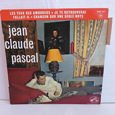JEAN CLAUDE PASCAL Les yeux des amoureux ... EGF 617