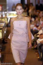 Behnaz Sarafpour pink drop waist Dress NEW sz 10 sleeveless knee length