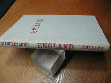 ENGLAND  HC  1950's  ILLUST.  TEXT IN ENGLISH   -FRENCH  -GERMAN  VG COND