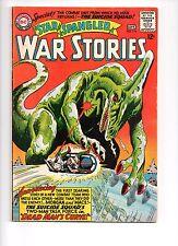 STAR SPANGLED WAR STORIES 116 - VG/F 5.0 - DINOSAUR COVER (1964)