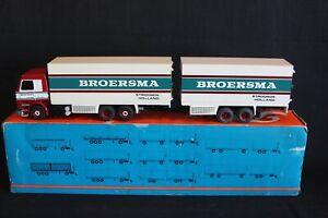 "Tekno Scania 143M/45 6x2 Truck with Trailer ""Broersma"" #421 (J&KvW)"