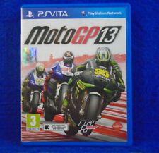 PS VITA MOTOGP 13 Game Moto GP PSVITA PAL UK Version Region Free