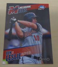 2013/14 BEN/BENJAMIN LESLIE Australian Baseball League (ABL) - Melbourne Aces