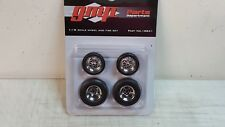 1:18 GMP CHROMED HOT ROD WHEELS AND TIRE PACK - 18841 - BEST PRICING - READ!!!