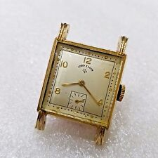 Vintage Lord Elgin Art Deco Fancy Lug Small Second Clean Mint Condition Watch