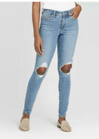 Women's High-Rise Skinny Ankle Jeans Universal Thread size 8R 10R 12R