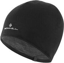 Ronhill Reversible Merino Beanie Hat - Black