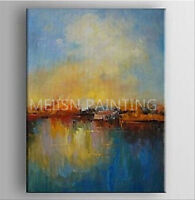 CHOP239 large abstract wall deco art hand-painted oil painting on canvas