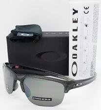 NEW Oakley Sliver Edge sunglasses Grey Prizm Black AUTHENTIC 9413-0365 Half Rim