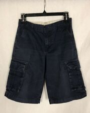 Old Navy Boys Navy Cargo Shorts, Size 14, Super Cute!