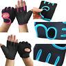 Women Men Work Out Half Finger Gloves Lifting Gym Sport Exercise Training Unisex