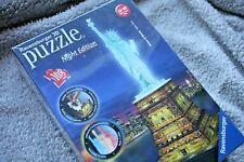 RAVENSBURGER 3D PUZZLE: STATUE OF LIBERTY (ESTATUA LIBERTAD), NIGHT EDITION! NEW