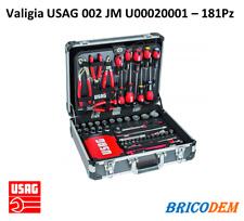 Usag 002 JM Valigia con Assortimento per Manutenzione (181pz)