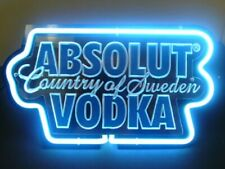 """New Absolut Vodka 3D Carved Acrylic Neon Light Sign 14"""" Beer Lamp Bar"""
