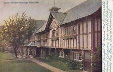 Postcard - Bournville - Corner of Office Buildings