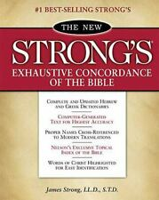The New Strong's Exhaustive Concordance of the Bible: With Main Concordance, App