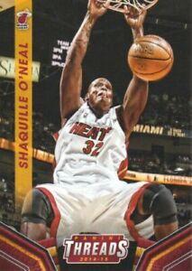 2014-15 Panini Threads Basketball #170 Shaquille O'Neal Miami Heat