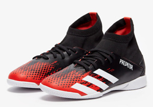 Adidas Predator 20.3 Jr Red/Black Indoor Soccer Shoes Boys (Size: 2y) EF1954
