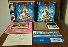 "Street Fighter II ""Weltmeister Edition PCE PC engine"