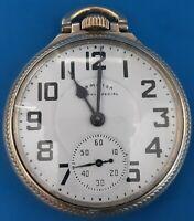Hamilton Grade 992, Size16 Railway Special Pocket Watch.FREE PRIORITY SHIPPING.