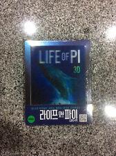 Life of PI 3D + 2D Blu-ray Lenticular Steelbook   Korea Korean exclusive NEW