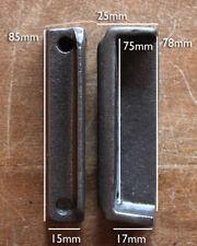 CAST IRON RIM LOCK DOOR KEEP 85mm ~ BRITISH MADE VICTORIAN RIMLOCK KEEPS ~ KP17