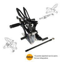Motorcycle Foot Peg Rest Rearset Rear Set Pedal For YAMAHA YZF-R6 2006-2016