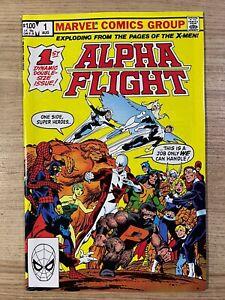 Alpha Flight #1 (1983 Marvel Comics) 1st Print