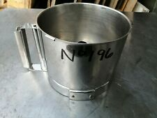 More details for no196  robot coupe stainless steel bowl , fits r302 and r301d