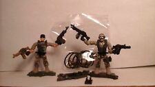mega blocks, mega construx,2 call of duty soldiers, 4, weapons LOOK!
