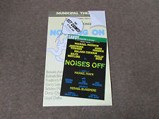NOISES Off Comedy by Michael Frayn inc Medwin & Watling SAVOY Theatre Poster