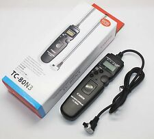 Canon Tc-80n3 Timer Remote Controller Switch Shutter Release for 7d 6d 5d