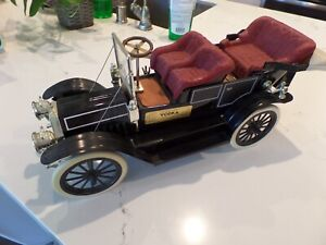 "Aesthetic Vodka Classic 1910 Oldsmobile Decanter Empty 18"" Long OUT OF BOX XLNT!"