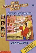 Baby-Sitters Club: The Truth about Stacey No. 3 by Ann M. Martin (1995, Pb)