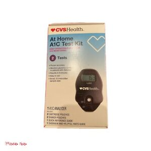 CVS At Home A1C Test Kit   2020/11/21. 2 Tests