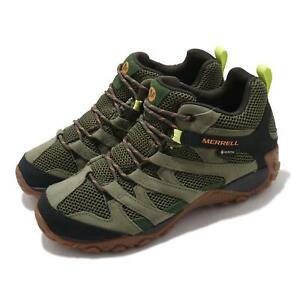 Merrell Alverstone Mid GTX Gore-Tex Green Black Men Hiking Outdoors Shoe J035661